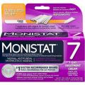 MONISTAT Vaginal Antifungal 7-Day Treatment Cream, Cure & Itch Relief (Pack of 2)