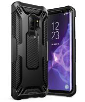 SupCase Unicorn Beetle Series Phone Case for Galaxy S9+ Plus, Premium Hybrid Protective Clear Case for Samsung Galaxy S9+ Plus 2018 Release(TPU/Black)