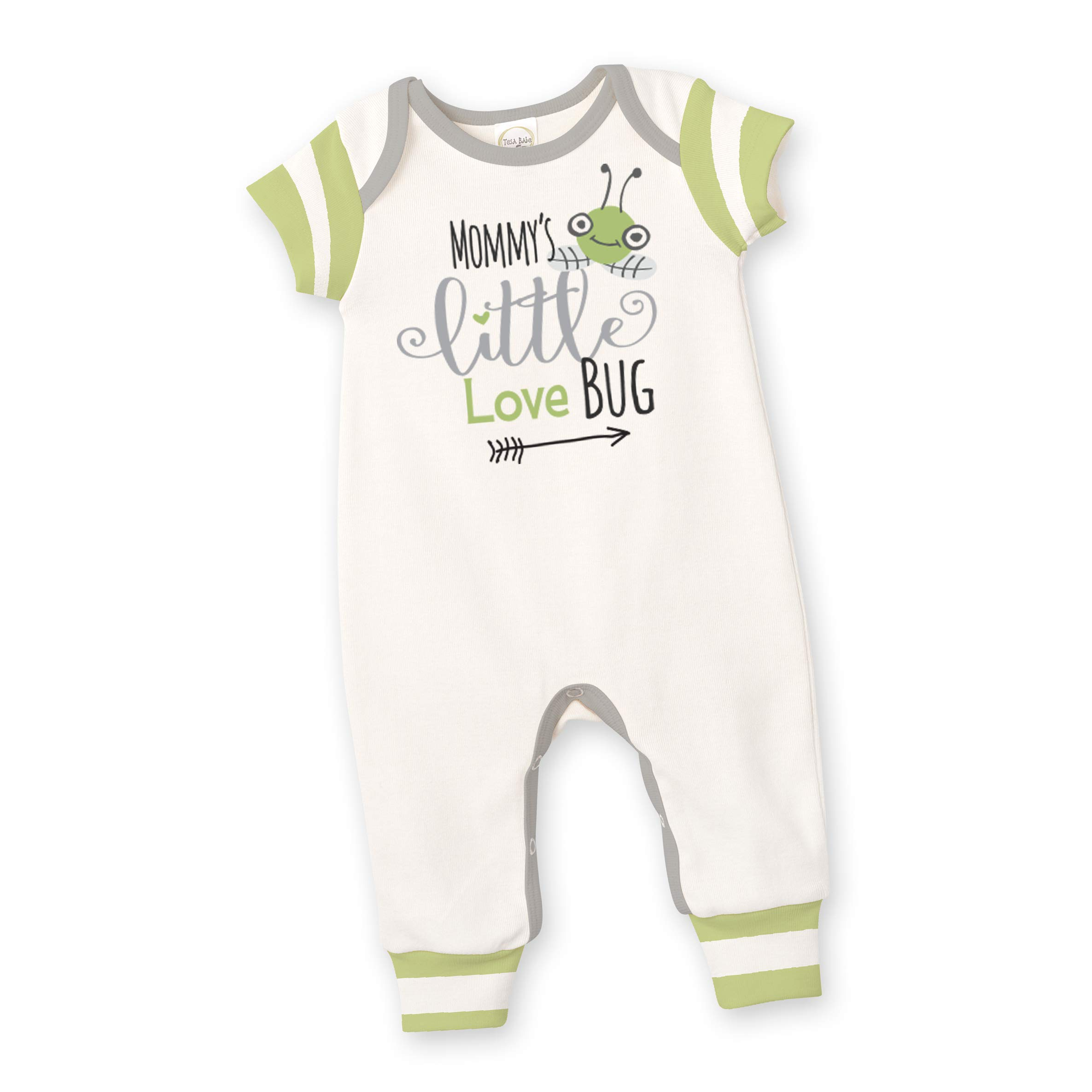 Tesa Babe Father's Day Mother's Day Baby Romper, Newborn & Baby Boy Girl Cotton Jumpsuit