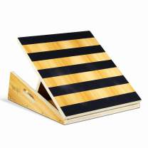 Yes4All Premium Adjustable Wooden/Steel Slant Board - Incline Board (10, 20, 30, 35 & 40 Degree) - Calf Stretcher, Stretch Board
