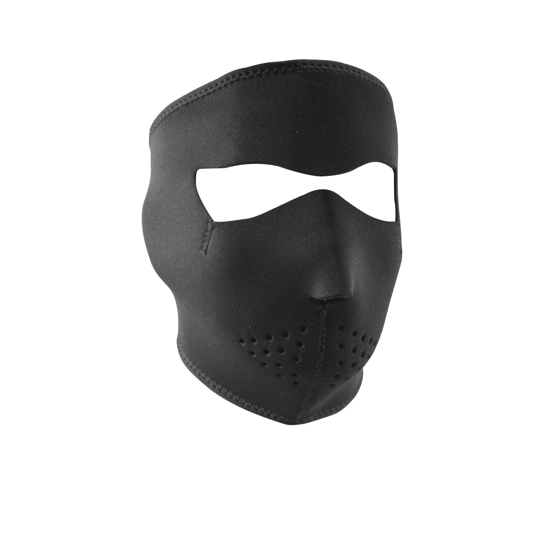 Zanheadgear Neoprene Full Face Mask, Small, Black