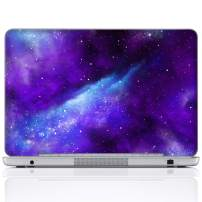 Meffort Inc 15 15.6 Inch Laptop Notebook Skin Sticker Cover Art Decal (Included 2 Wrist pad) - Galaxy Universe
