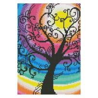Norbi Embroidery Painting with Diamonds by Number Kits Full Rhinestone Painting Cross Stitch Kit Home Wall Art Decor for Kids Adult Beginner