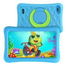 VANKYO MatrixPad Z1 Kids Tablet 7 inch, 32GB ROM, Kidoz Pre Installed, IPS HD Display, WiFi Android Tablet, Kid-Proof, Blue