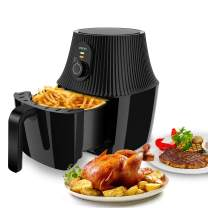 Air Fryer, imarku 2.6QT Electric Hot Air Fryers with Fast Cook Oven Oilless Cooker with Timer Knob, Healthy Power Oven Airfryer for Air Frying, Roasting and Reheating