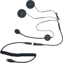 iMC Motorcom HS-H130P Open-Face Helmet Headset for 7 Pin Harley Davidson Audio Systems