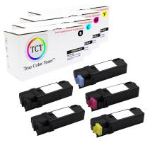 TCT Premium Compatible Toner Cartridge Replacement for Xerox Phaser 6140 6140N 6140DN Printers (Black 106R01480, Cyan 106R01477, Magenta 106R01478, Yellow 106R01479) - 5 Pack