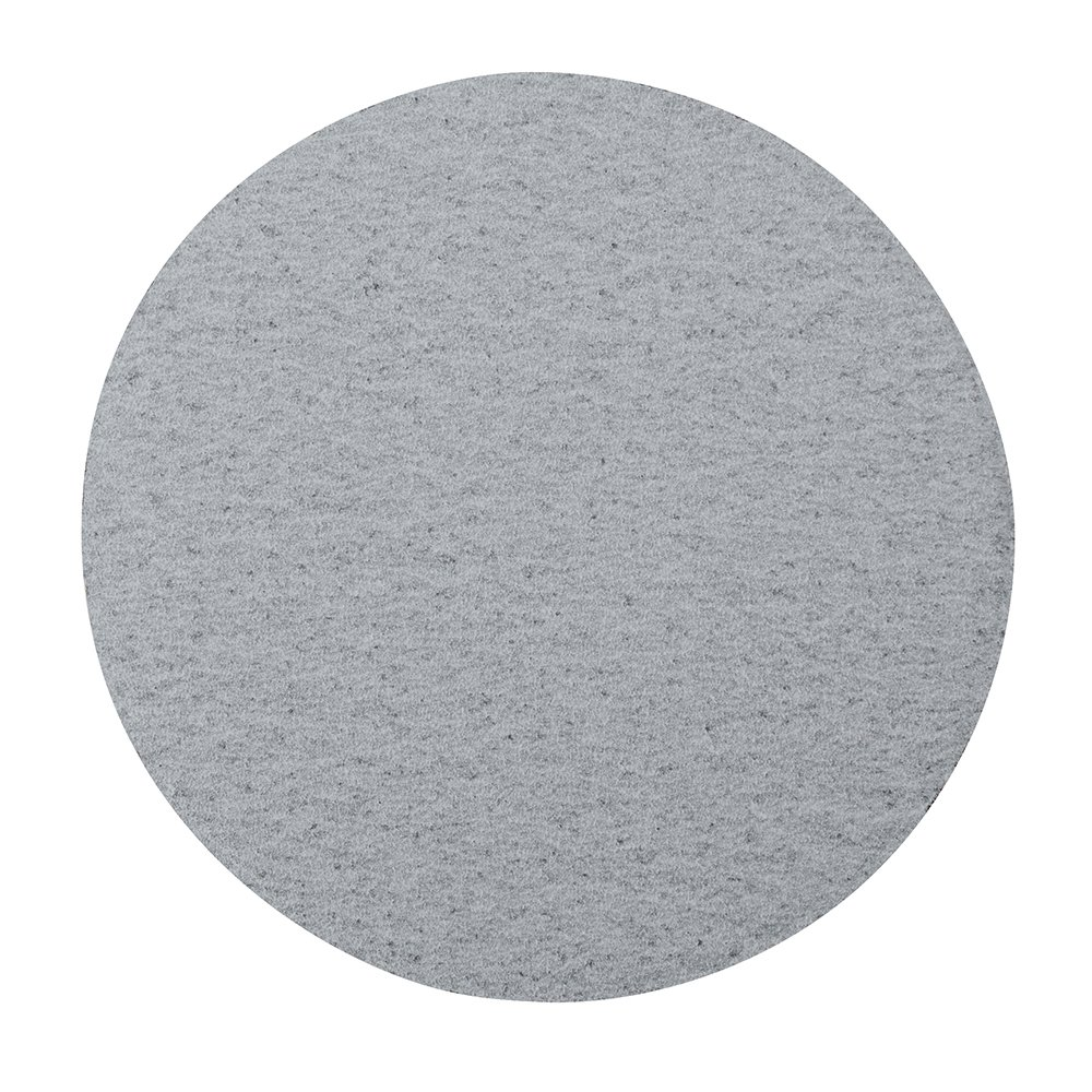 "Mercer Industries 5580100 Hook & Loop Platinum Stearated Non-Loading Disc, Silicon Carbide, 6"" x No Dust Holes, Grit 100C, 50 Pack"