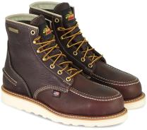 "Thorogood 1957 Series Men's 6"" Moc Toe, MAXwear Wedge Waterproof Safety Toe Boot"