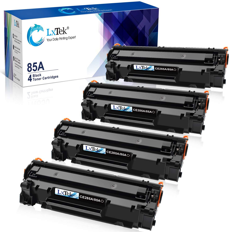 LxTek Compatible Toner Cartridge Replacement for HP 85A CE285A to use with  Laserjet Pro P1102W Pro P1109W M1212NF M1217NFW (Black, 4-Pack)