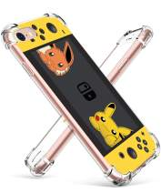 """Coralogo for iPhone 6S Plus/6 Plus TPU Case, Cute Funny Design Slim Ultra Clear Bumper Protective Fashion Fun Cool Cover Skin Teens Kids Girls Cases for iPhone 6 Plus/6S Plus 5.5"""" (Yellow Pika Games"""