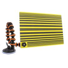 ABN Car Auto Paintless Dent Repair PDR Line Reflector Board with Adjustable Suction Cup Arm for Automotive Dents Removal