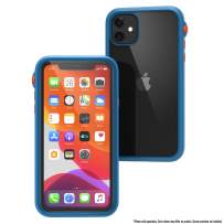 Catalyst - Case for iPhone 11 Case with Clear Back, Heavy Duty 10ft Drop Proof, Truss Cushioning System, Rotating Mute Switch Toggle, Compatible with Wireless Charging, Lanyard- Blueridge/Sunset