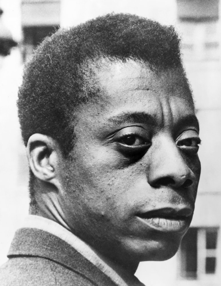 James Baldwin (1924-1987) Namerican Writer Poster Print by (18 x 24)