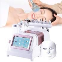 Hydrogen Oxygen Facial Machine, 7 in 1 Hydro Oxygen Jet Micro Bubbles Pore Blackhead Clean Hydrafacial Machine, Facial Beauty Machine for Home & Beauty Salon