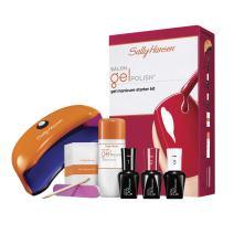 Sally Hansen Salon Pro Gel Starter Kit, Red My Lips