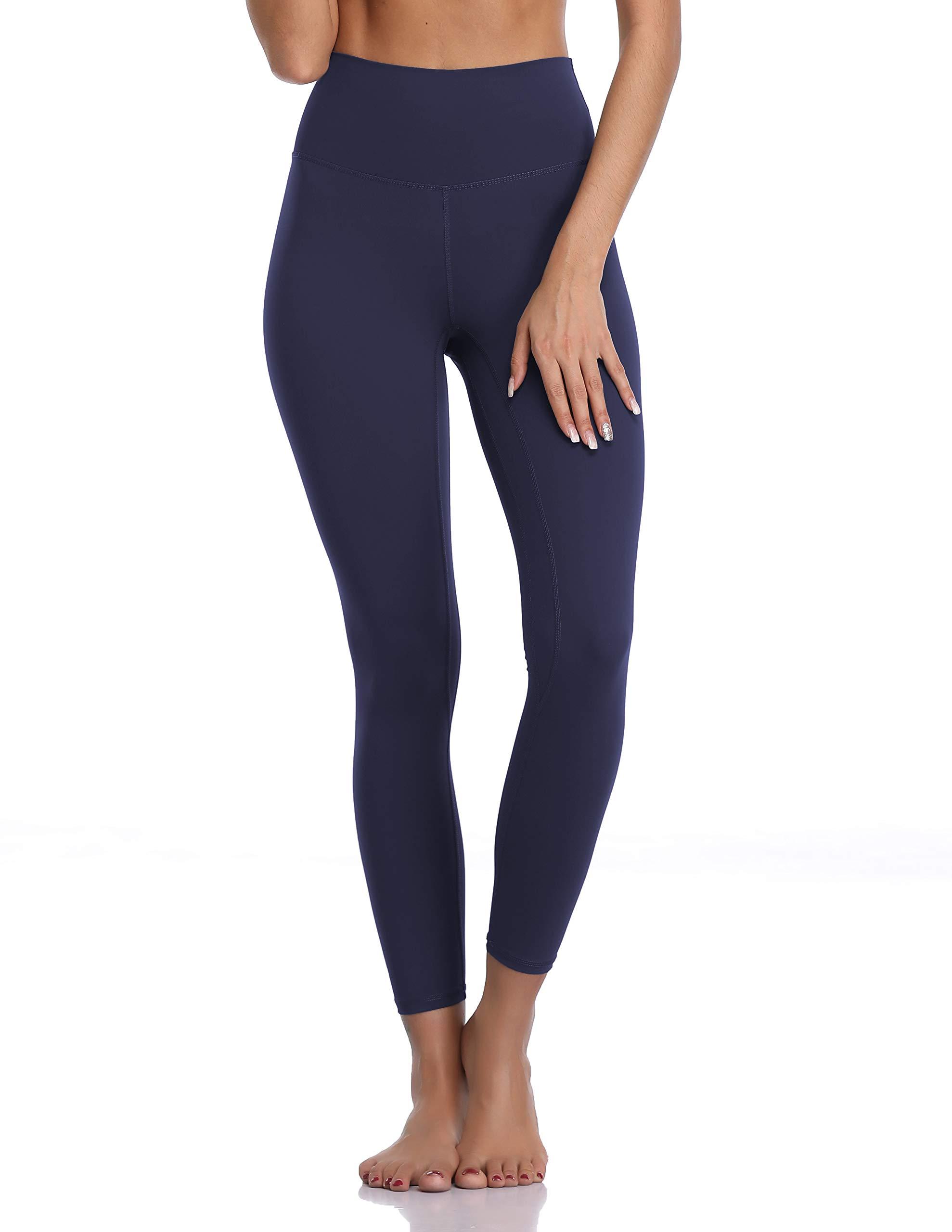 Colorfulkoala Women's Buttery Soft High Waisted Yoga Pants 7/8 Length Leggings