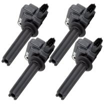 ECCPP Ignition Coil New Premium Ignition Coil Pack for Cadillac BLS 2007-2008 Compatible with UF526
