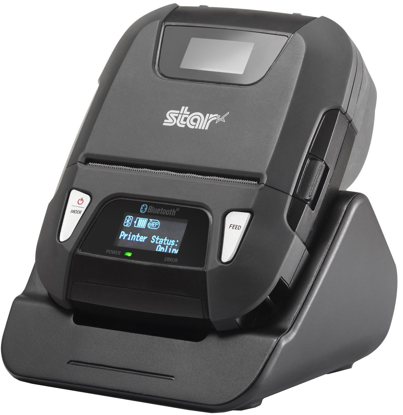 Star Micronics SM-L300 Portable Bluetooth Receipt and Label Printer with Tear Bar - Supports iOS, Android, Windows