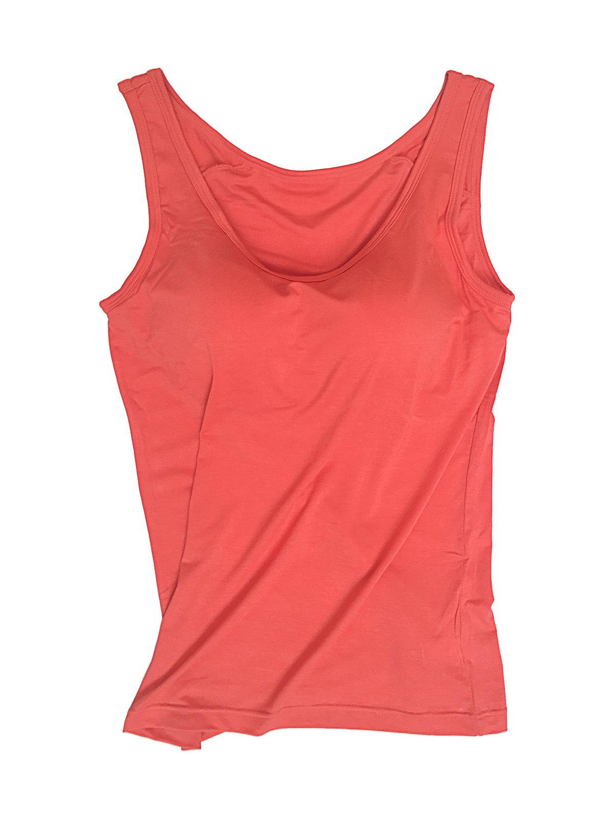Aodrusa Womens Tank Tops with Built-in Bra Juniors Workout Top Tees