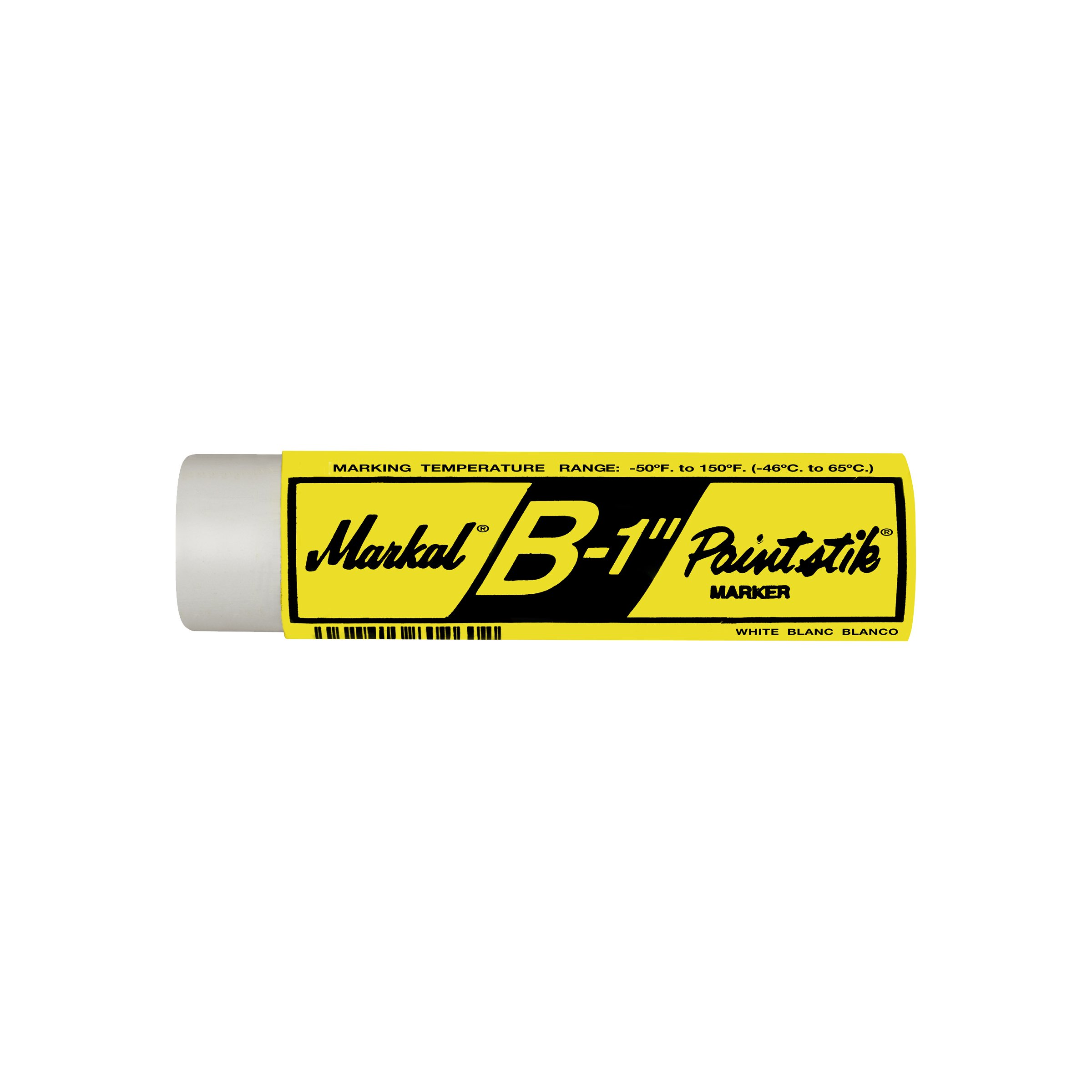 Markal 80260 B Paintstik Solid Paint Ambient Surface Marker, White, King Size (Pack of 12)