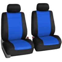 FH Group FB083BLUE102 Blue-Half Neoprene Bucket Seat Cover Airbag Compatible