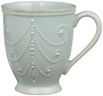 Lenox French Perle Mug, Ice Blue