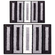 Bath Rug Mat-Shag Water Absorbent and Soft Bathroom Rugs, Support Machine Wash/Dry, Good Slip Resistance