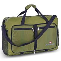 """SUVELLÉ Foldable Large Duffel Bag Lightweight 21"""" Water Resistant Travel Packable Duffle Bag for Men and Women"""