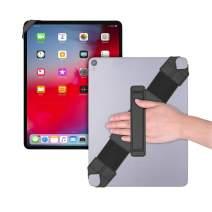 "Universal Tablet Hand Strap Holder, Joylink 360 Degrees Swivel Leather Handle Grip with Elastic Belt, Secure & Portable for 12.9"" Tablets (iPad Pro 2018),Black"