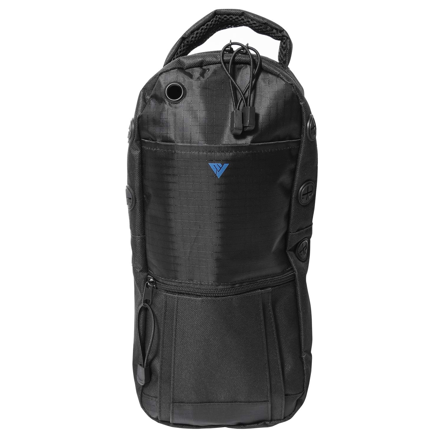 Oxygen Cylinder Backpack, Water Resistant and Portable for Walking and Standing with Adjustable Straps, Double Mesh Padded Bag for Travel, Black, M2 M4 ML6 M6 M7 M9 Tanks (A, B and C Cylinder Sizes)