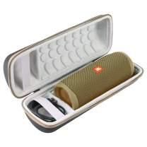 Khanka Hard Travel Case Replacement for JBL FLIP5 Flip 5 Waterproof Portable Bluetooth Speaker (Sand)