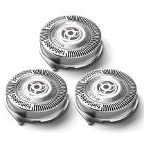 SH50 Replacement Heads for Philips Norelco Shavers Series 5000, Replace HQ8 Heads, OEM SH50/52 MultiPrecision Blades Made in Netherlands