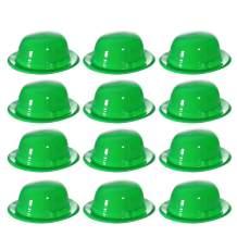 Windy City Novelties Green St. Patricks Day Costume Derby Hats - 12 Pack