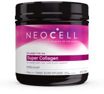 NeoCell Super Collagen Powder, 14 Oz, Non-GMO, Grass Fed, Paleo Friendly, Gluten Free, Collagen Peptides Types 1 & 3 for Hair, Skin, Nails and Joints (Packaging May Vary), 60 Servings