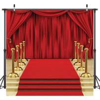 Dudaacvt 8x8ft Hollywood Theme Party Decorations Backdrops Red Carpet Stage Backdrop Wedding Birthday Party Decoration Seamless D146