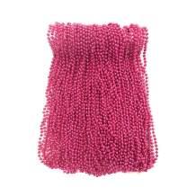 Hot Pink Mardi Gras Beads 33 inch 7mm, 6 Dozen, 72 Necklaces