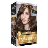 L'Oreal Paris Superior Preference Fade-Defying + Shine Permanent Hair Color, 6C Cool Light Brown, 1 kit Hair Dye