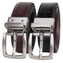 Dockers Big Boys' Braided Reversible Belt