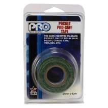 """Pro Tapes 306GB16MGRN1 PRO Pocket Gaff Tape, 1"""" x 6 yd, Green"""