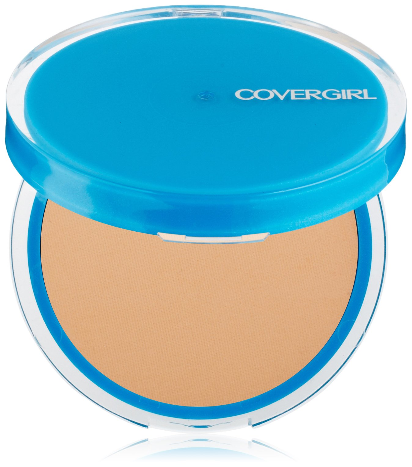 CoverGirl Clean Oil Control Pressed Powder, Warm Beige 545, 0.35-Ounce Pan (Pack of 2)