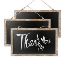 CALIFORNIA CADE ELECTRONIC Chalkboard - Chalkboard Sign-Vintage Framed Kitchen Chalkboard-Decorative Chalk Board for Rustic Wedding Signs, Kitchen Pantry & Wall Decor (3, 10.517.5 in)