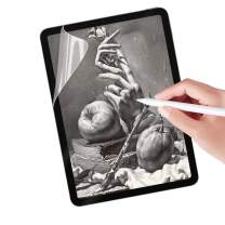 Junfire iPad Air 4th Generation 10.9 inch Paperfeel Screen Protector 2020, Anti Glare Matte Screen Film Compatible with Pencil Face ID for Drawing Writing