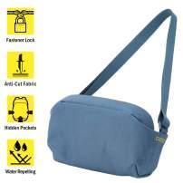 ELECOM ESCODE Shoulder Bag, Bladed Crime Prevention Design, Water Repellent Finish/Smoke Navy/BMA-ESSC01NV