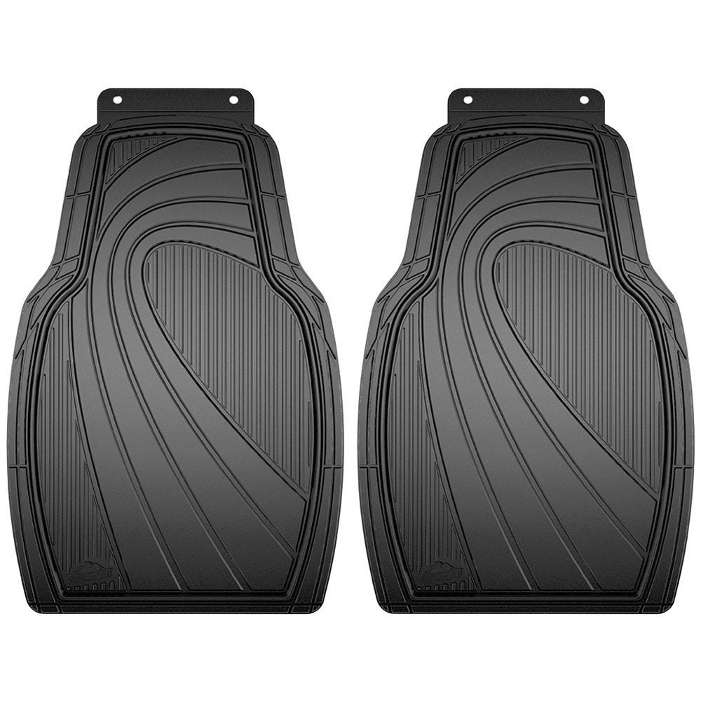 Armor All 79957 2-Piece Black Rubber Value Floor Mat