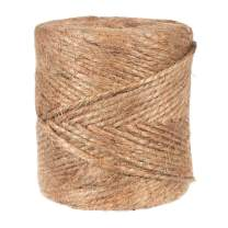 GOLBERG G Natural Jute Twine - 2 Ply x 2 MM x 375 Ft - Gardening Rope - Durable Packing String