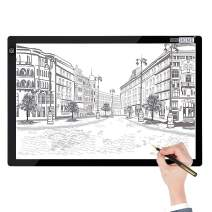 VIVOHOME A2 LED Light Box Board Tracing Light Pad with 3 Brightness for Diamond Painting Artist Sketching Drawing Craft
