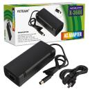 Xbox 360 E Power Supply, YCCTEAM Power Supply Cord AC Adapter Replacement Charger for Xbox 360 E, 100-240V Auto Voltage, Black