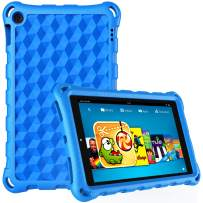 Kindle Fire 10 Case and Cover for Amazon Fire HD 10 Tablet (9th/7th/5th Generation,2019/2017/2015 Release) Blue