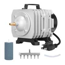 VIVOHOME 32W 950 GPH Commercial Air Pump with 2 PCS 4 x 2 Inch Airstones, 2 Sets
